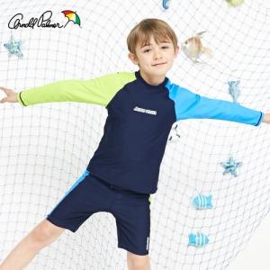 [ARNOLD PALMER] 래쉬가드SET(상하의+수모) 남아수영복(APB-O714N)/아동수영복/아동래쉬가드/비치수영복