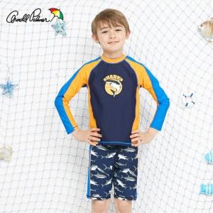 [ARNOLD PALMER] 래쉬가드SET(상하의+수모) 남아수영복(APB-O705N)/아동수영복/아동래쉬가드/비치수영복
