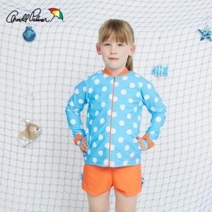 [ARNOLD PALMER] 3PCS 여아수영복+수모 여아수영복(APG-O609B)/아동수영복/아동래쉬가드/비치수영복